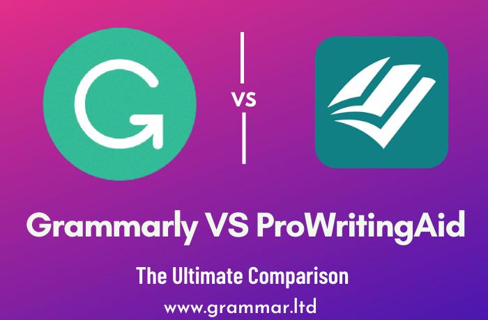 Grammarly VS ProWritingAid
