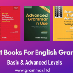 Best Books For English Grammar