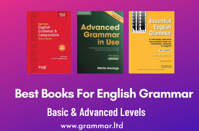 Best Books For English Grammar