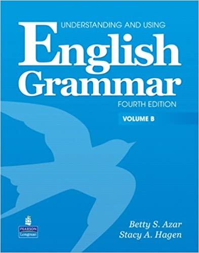 Grammaire anglaise Azar
