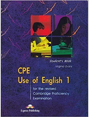 Anglais utilisé CPE