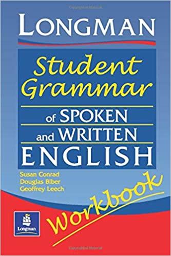 Grammaire étudiante Longman de l'anglais parlé et écrit